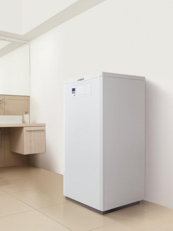 Plynový kondenzačný kotol Vaillant ecoVIT v kúpeľni